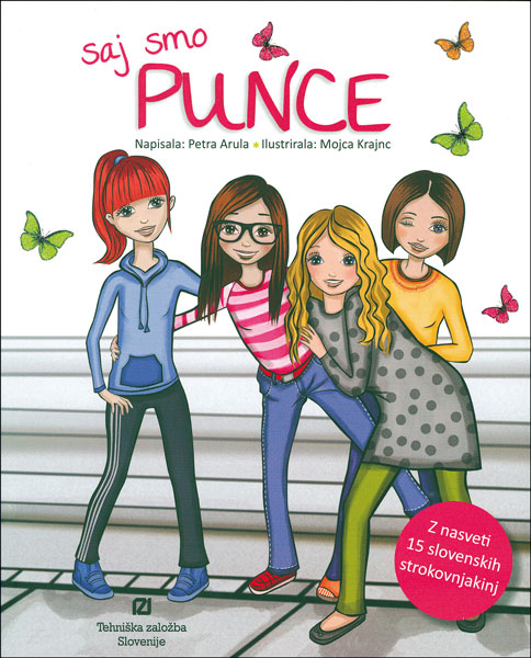 Naslovnica knjige Saj smo punce