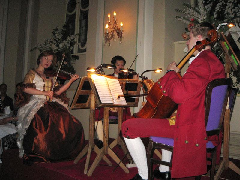 Salzburg - koncert na večerji